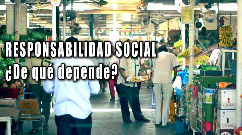 Responsabilidad social una importante clave para la recuperación económica.